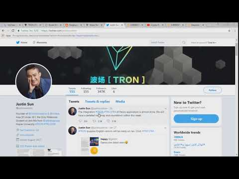 Tron Deleted Tweet on Chinese Regulations & VeChain Unannounced Partnership VEN TRX EXCLUSIVE!