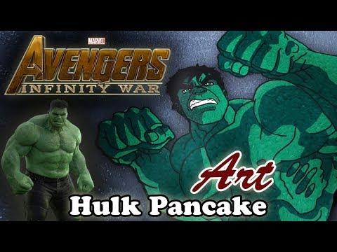 Avengers Infinity War | Hulk | Pancake Art - Part 1.