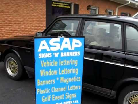 ASAP Signs, Alpharetta, GA - Signs, Banners, Vinyl letters, magnetic signs,