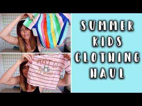 KIDS SPRING/SUMMER CLOTHING HAUL- ZARA, MANGO & NEXT
