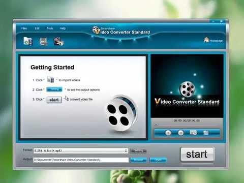 Freeware to Convert Videos to AVI, MP4, FLV, MKV, MOV, etc.