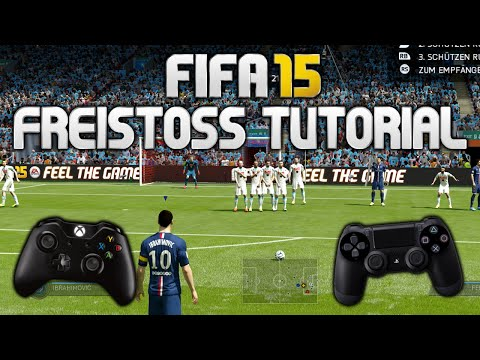 FIFA 15 FREISTOSS TUTORIAL - [XBOX One - PS4 - PC] DEUTSCH - HD