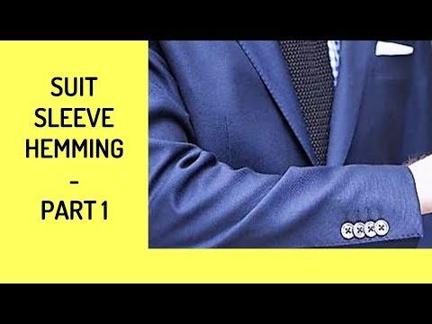 Suit Coat Sleeve Hemming - Part 1