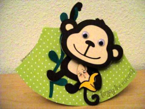 Monkey Rocker Card