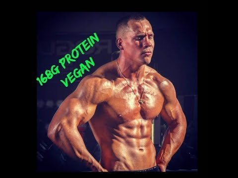 Vegan High Protein Full Day of Eating | 168g of Protein