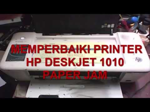 Bongkar Printer HP deskjet 1010 paper jam