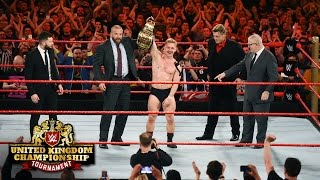 Tyler Bate is crowned the first WWE United Kingdom Champion: WWE United Kingdom Tournament