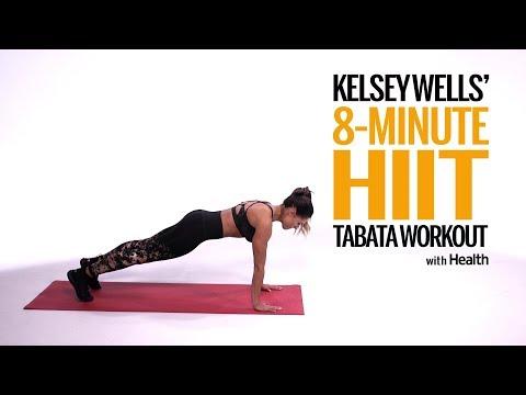 Kelsey Wells' 8-Minute HIIT Tabata Workout | Health