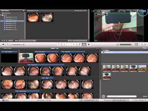 iMovie   photo transitions
