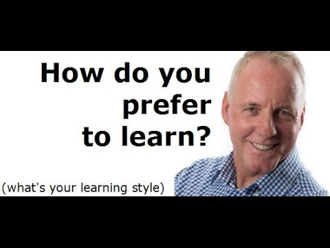 What is your preferred learning style?