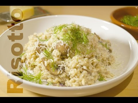 Mushroom Risotto '' WITHOUT WINE ''  ريزوتو المشروم - Kaiser in the Kitchen