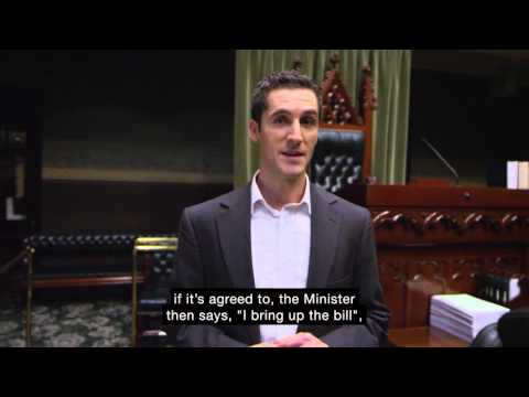Passage of Legislation - First Reading