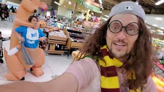 HALLOWEEN CANCELLED! NOVEMBER Trick or Treating in PUBLIX! (FV Family Harry Potter Costume Vlog)