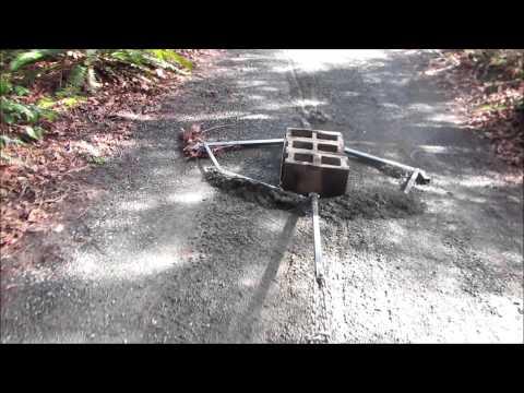 ATV or Lawn Tractor Drag Grader
