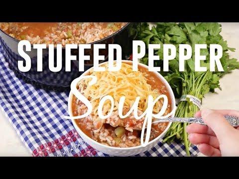 How to make: Stuffed Pepper Soup