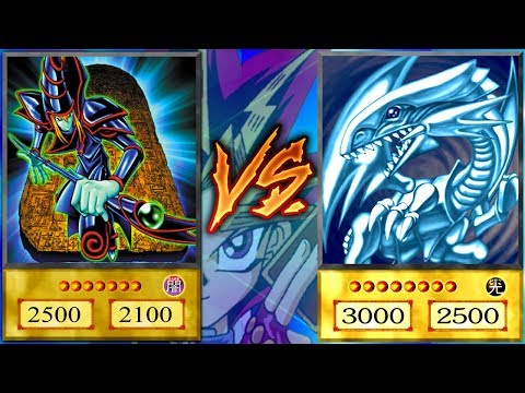 BLUE EYES DECK vs DARK MAGICIAN DECK! (How to Yugioh!)
