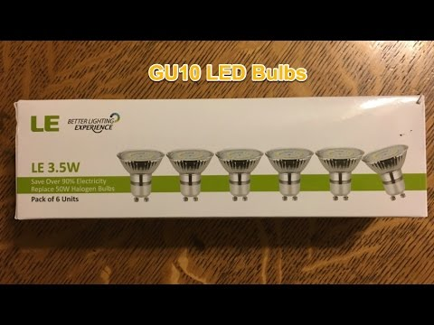LED GU10 Light Bulb