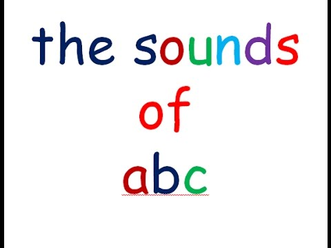 Teaching & Writing the English Alphabet |ABC and Phonics Sounds for Children