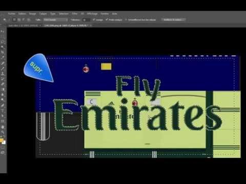 TUTO : Comment créer des kits sur pes 2013 avec photoshop cs6