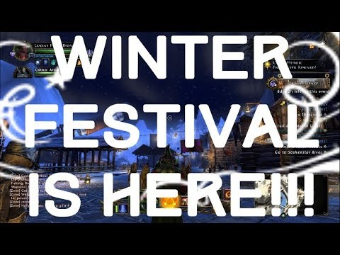 WINTER FESTIVAL IS HERE!!! - Neverwinter 2017