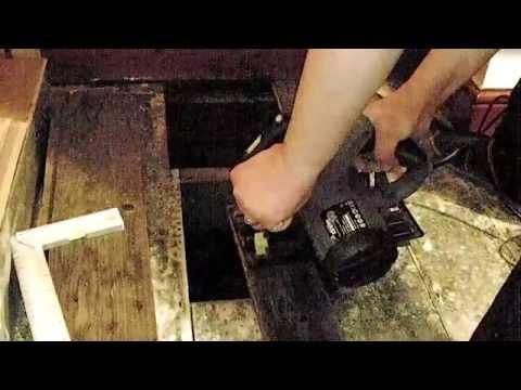 DIY wooden floor repair