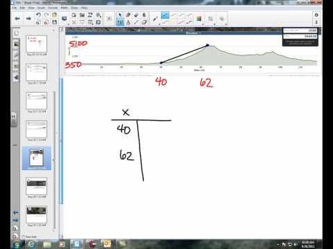 Applied Slope - Learning Targets 7 and 8