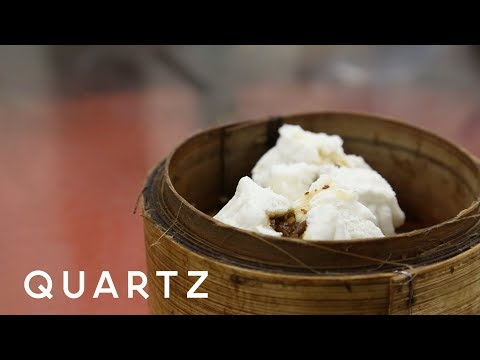 How do you eat dim sum? By drinking tea