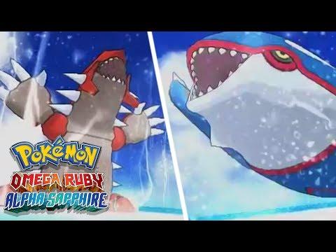 Pokémon Omega Ruby and Pokémon Alpha Sapphire - Groudon & Kyogre Cutscenes