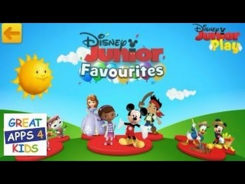 Disney Junior Play | Disney Themed Game App for Preschoolers