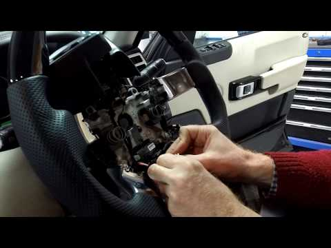 Range Rover L322 heated steering wheel fault finding guide