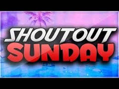 Shoutout Sunday Series Ep.8 ''Gain More Subscribers''!!