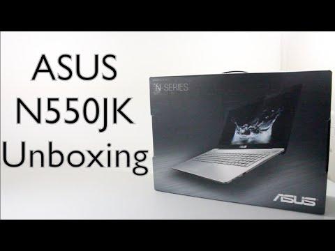 Asus N550JK Unboxing