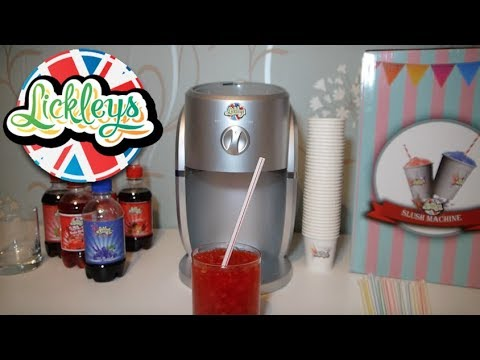 How To Use Lickley's Slushie Machine/Snow Cone Maker