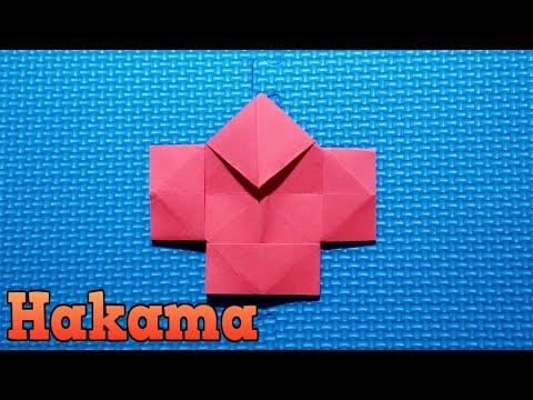 Hakama Origami Very Easy Tutorial