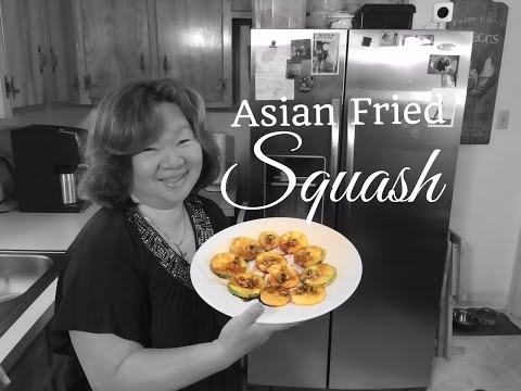 HD Asian Fried Squash  :  HD Easy Asian - Redneck Fusion Cooking Recipes