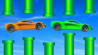MILE HIGH FLAPPY BIRD MINIGAME! (GTA 5 Funny Moments)