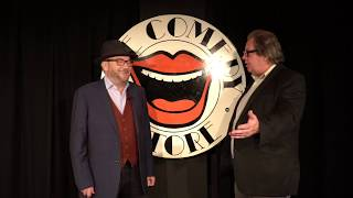 Mike Graham & George Galloway at the Comedy Store: the Chukas, the Milibands & BoJo