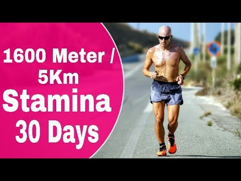 1600 Meter - 5KM Running Stamina