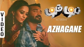 Azhagane Video Song   Dim Dip Movie   Monish, Sanjana   B Aathif   Ku Karthik   Ra Anand