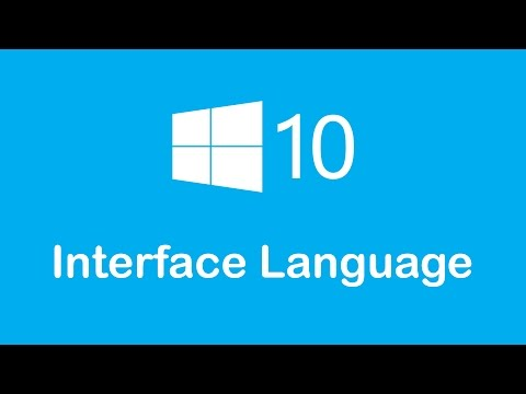 Windows 10 Tricks in Arabic - Change Windows Interface Language
