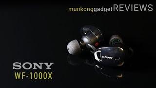 รีวิว : หูฟังอินเอียร์บลูทูธ Sony WF-1000X พระกาฬสายล่องหน