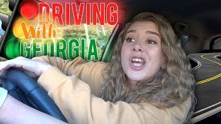 DRIVING WITH GEORGIA || Georgia Productions
