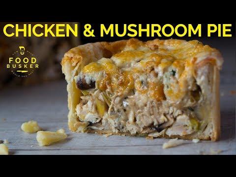 CHICKEN & MUSHROOM PIE | The special trick