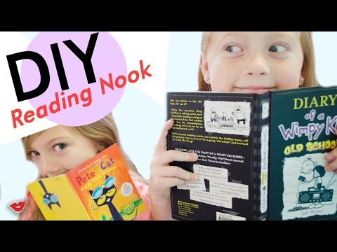 DIY Reading Nook | Tay from Millennial Moms