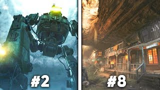 Top 10 BEST Call of Duty Zombies Maps | Arcade Cloud