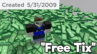 Playing Old Scam Games (Roblox)