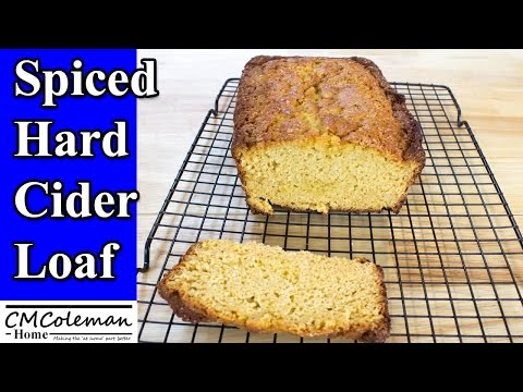 How To Make Rustic Hard Cider Loaf, Easy Recipe