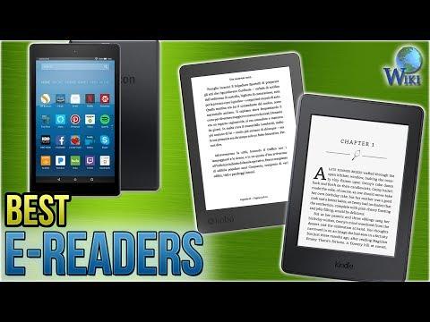 7 Best E-Readers 2018