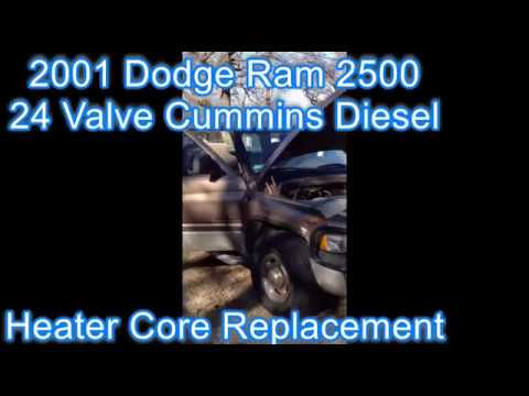 Heater Core Replacement - 2001 Dodge Ram 2500 Cummins Diesel