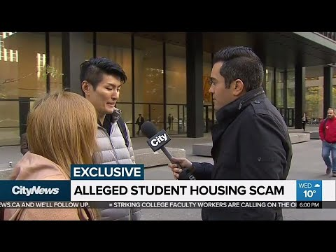 Students allege they were scammed by man posing as Toronto landlord
